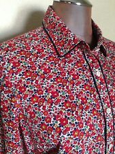 J CREW Liberty of London Boy Shirt in Betsy Ann Floral 100% Cotton Size 6 RARE