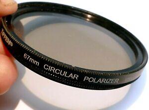 Tiffen 67mm Circular Polarizer C-PL Lens Filter