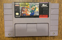 Mario is Missing (Super Nintendo, 1993) SNES Cartridge Only