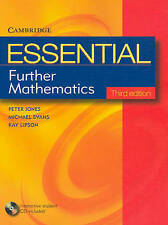 Essential Further Mathematics Third Edition with Student CD-Rom by Michael...