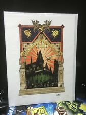 A Celebration Of Harry Potter Limited Edition Numbered Print 2014 #378, 379, 380