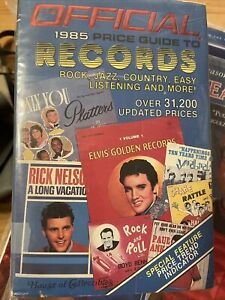 OFFICIAL 1985 PRICE GUIDE TO RECORDS SHIPS FREE