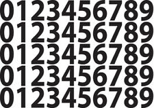 Vinyl Number Stickers, 0 -9, 5 Sets Self Adhesive Decals sticky