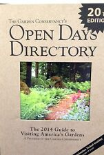 The Garden Conservancy's Open Days Directory 2014 New Paperback.