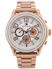 Tommy Hilfiger | 1781651 | Women's Rose Gold Watch | Chronograph | RRP £250