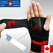 Left & Right Hand Wrist Steel Brace Support Splint Relieve for Tunnel Syndrome