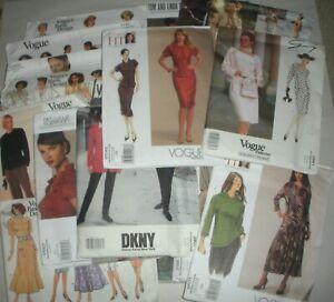 Lot 20 VOGUE Uncut Sewing Patterns - Designer & Others - 19 Women/1 Men's