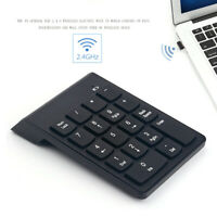 Wireless Numeric Keypad Keyboard 18 Keys Number Pad For Laptop PC Computer