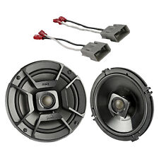 """2x Polk 6.5"""" 300W Speakers, 2x Metra Harnesses (Select 1991-up Honda and Acura)"""