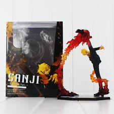 "ONE PIECE - ""Black Leg"" Sanji Battle Version, figura de acción 17 cm."