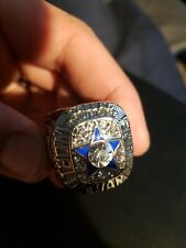 1971 NFL Football Dallas Rings Cowboys Super Bowl 5 Years Champion Band Jewelry