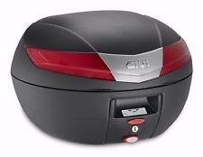 Givi V40N Monokey Motorcycle Top Box V40 Black Topbox Case new 40 Litre Capacity