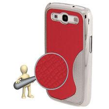 Hardcase Cover POSTERIORE WAVE per Samsung i9300 Galaxy s3 in Rosso Custodia Protettiva Cover