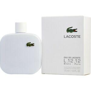 Lacoste L.12.12 Blanc-Pure 175ml Eau De Toilette GENUINE NEW & SEALED