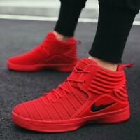 Mens Basketball Boots Shoes High Flyknit Sports Sneakers Retro Classic Athletic