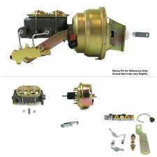 "64-72 Chevrolet Chevelle FW Mount Pwr 7"" Single Brake Booster Kit Disc/Disc SBC"