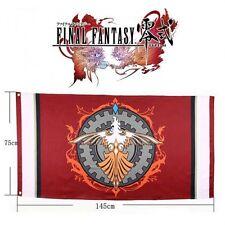 FINAL FANTASY TYPE 0 AGITO XIII NOVA CRYSTALLIS BANDIERA FLAG COSPLAY PHOENIX