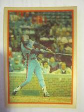 1986 Sportflix #18 Hubie Brooks Magic Motion Baseball Card (GS2-b15)