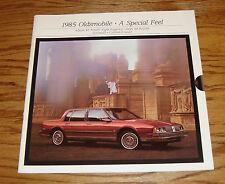 Original 1985 Oldsmobile Delta 88 Ninety Eight Toronado Cruiser Sales Brochure
