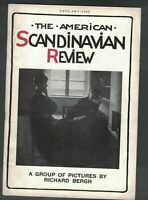 American Scandinavian Review January 1922 Richard Bergh Queen Louise Denmark