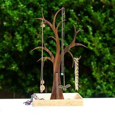 Elegant Tree Jewelry Stand Holds Necklaces, Bracelets and More. Handmade.