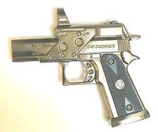 Revolver cigaret Gas Jet Lighter Metal  With Laser Windproof Lighter U.K.Seller