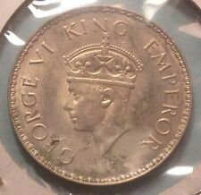 wx014: India 1940 silver One Rupee