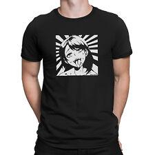 Camiseta para hombre de anime japonés Hentai Manga Otaku Japón-Girl