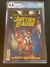 Justice League #30 CGC 9.8-NM-1st Print-Scott Snyder-Jorge Jimenez-DC Comics
