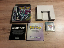 Pokémon: Crystal Edition Nintendo Game Boy Color OVP !!!!!
