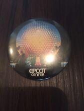 RARE VINTAGE WALT DISNEY WORLD WDW 1982 EPCOT CENTER PINBACK BUTTON PIN