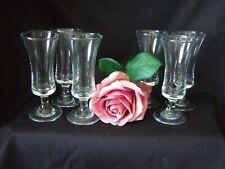 6 x  Vintage Retro  Sherry / Port / Liqueur 11cm Schooner Glasses