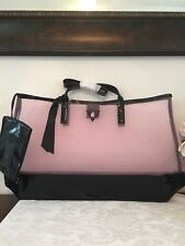 GUESS GIRL Pink/ Black Large Tote Bag Purse  Shopping Handbag