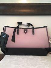 GUESS GIRL Pink/ Black Large Tote Bag Purse  Shopping Handbag
