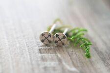 | Crossed Arrow studs Arrow studs | Arrow earrings