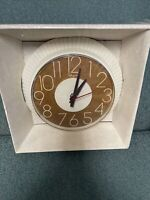 Vintage Ingraham ERA 70's Retro Electric Wall Clock Original Box Model 30-415V
