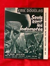 Dossier de presse-«SEULS SONT LES INDOMPTÉS»1962-LONELY ARE THE BRAVE»KIRK D.