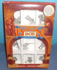 Citadel Miniatures Bargain Box NIB OOP - Vintage Metal Warhammer