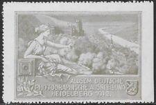 Germany Cinderella: National Photographic Exhibition, Heidelberg, 1912 - cw55.82