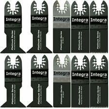 INTEGRA; 10pc Saw Blade Mix Oscillating Multi Tools fits DEWALT BLACK & DECKER
