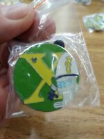 2008 Disney WDW Hidden Mickey Series III Alphabet XR (X) Pin