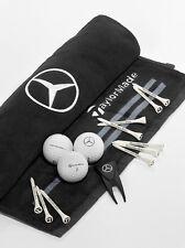 Mercedes-Benz Golf 16.Teile Geschenkset - Schlägertuch-Golfbälle-Tees-Pitchgabel