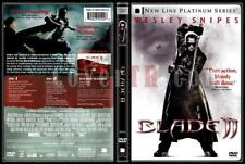 BLADE II Wesley Snipes - Platine - NEW 2 DVD Box FREE Post  mmoetwil@hotmail.com