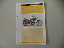 - SCHEDA TOP MOTO - HARLEY DAVIDSON FXDX DYNA SUPER GLIDE SPORT