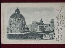 Cartoline paesaggistiche di Pisa da collezione