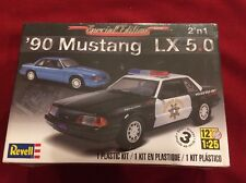 REVELL 90 MUSTANG LX 5.0 2 in 1 SPECIAL EDITION POLICE MODEL 1:25 J&E HOBBY