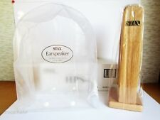 Official STAX natural wood headphone stand(HPS-2)&Earspeaker cover(CPC-1) set