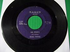 Detroit Northern Soul 45  Soul Twins  MR. PITIFUL / SEARCHING FOR KAREN 1968