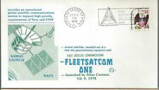 1979 Fleetsatcom One Launched by Atlas Centaur, Space Voyage Cover