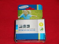 Original Samsung CLP-Y300A Toner Yellow CLP-300 mit Rechnung